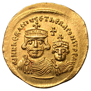 Heraclius en Constantinus III