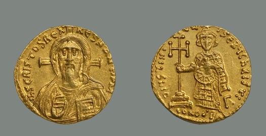 Justinianus II, 692–5. Dumbarton Oaks Museum